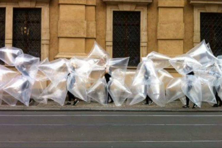 PRAGUE QUADRIENNALE</br></br> Interventie in de publieke ruimte